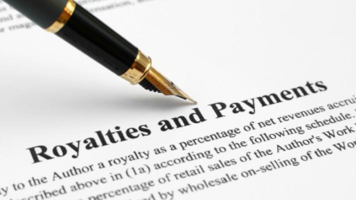 О выплате вознаграждения за использование или предоставление права на использование базы данных и торговой марки