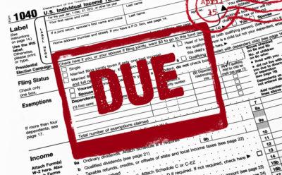Несвоевременная подача федеральной декларации или неуплата федерального налога
